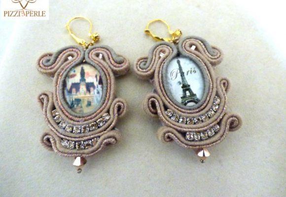I gioielli di Pizzi e Perle al Marchè De Noël di Notre Dame di Parigi