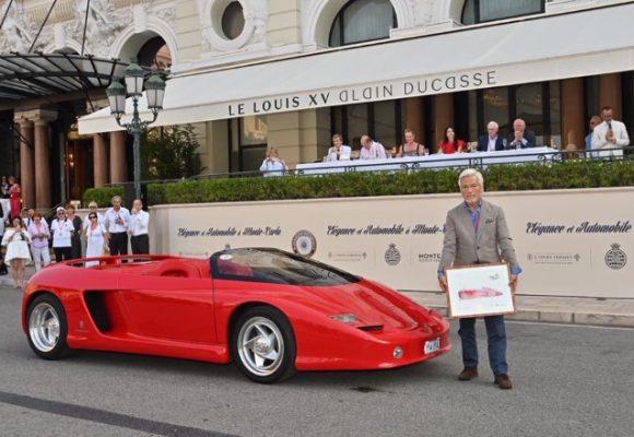 Lorena Baricalla per Elegance et Automobile Monte-Carlo
