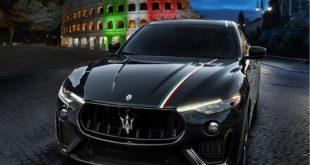 Maserati Levante Trofeo LiveryItaly. Foto da Ufficio Stampa