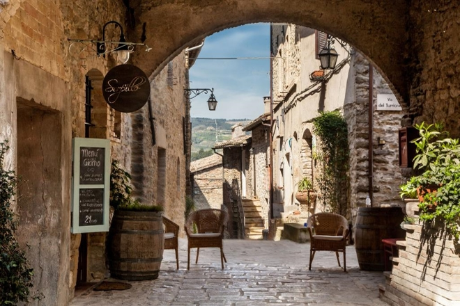 Una foto dell'Ostello Bello Assisi a Bevagna (PG). Foto dal Web, fonte Booking